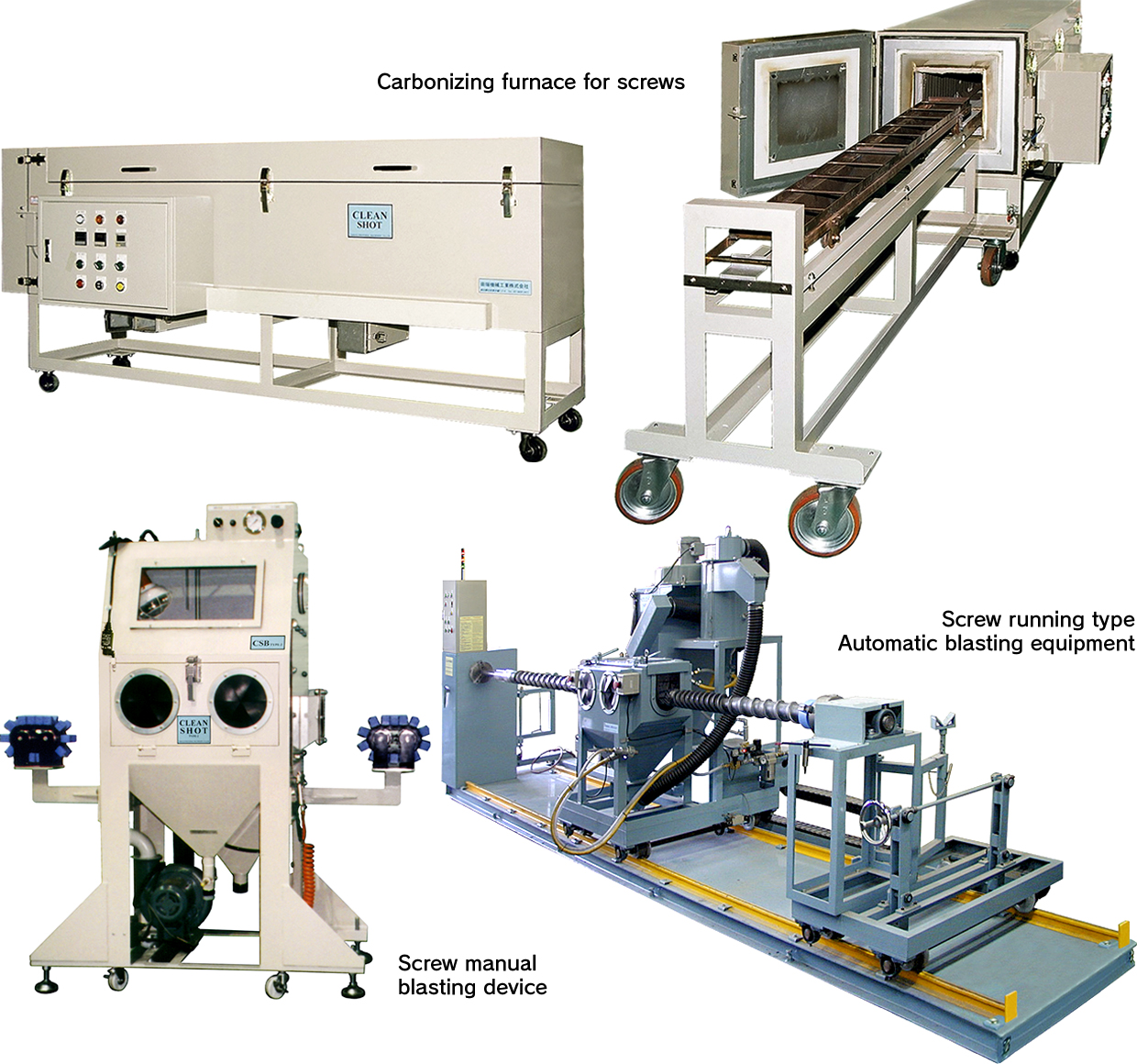 TABATA INDUSTRIAL MACHINERY_Cleaning Equipment For Screw
