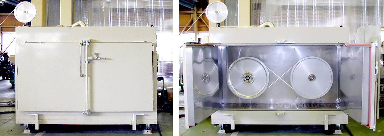 TABATA INDUSTRIAL MACHINERY_Fluororesin (PTFE) Molding Device_Equipment related to Paste Extruder_Drying capstan